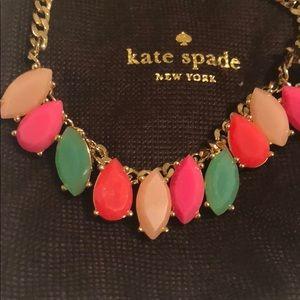 Kate Spade Gardens of Paris Multicolor Necklace